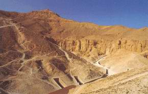 Valley of the Kings at Western Thebes